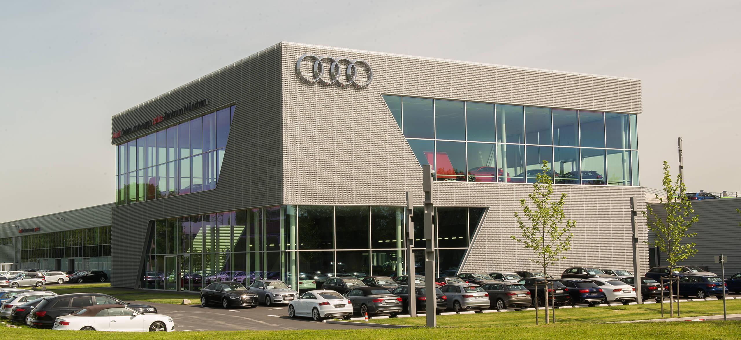 Audi Gebrauchtwagen Plus Zentrum München